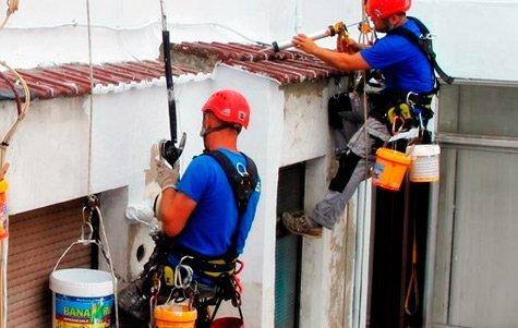 pintado y rehabilitacion de fachadas y patios interiores